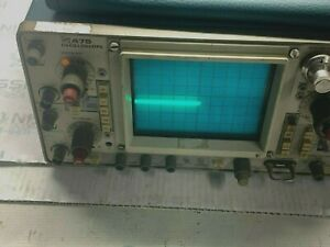 Tektronix 475 Oscilloscope Power Tested Only No Futher Test Done