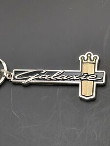 64 1964 Ford Galaxie Emblem Keychain Nicely Painted Plated Metal J5