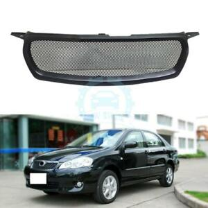 1pc Resin Matte Black Front Grille For Toyota Corolla 2010 2012ggq