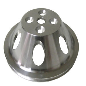 For Big Block Chevy Swp Aluminum 1 Single Groove Upper Water Pump Pulley Bbc
