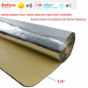 Sound Deadener Heat Shield Insulation Thermal Noise Killer Mat 390 Mil 65 X 39