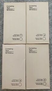 Correcting Tape For Ibm Wheelwriter 742 Lot Of 4 New Tapes Free Shipping