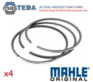 4x Mahle Engine Piston Ring Set 008 65 N0 G Std New Oe Replacement
