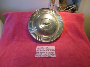 1965 1967 Chevrolet Biscayne Bel Air Gm Dog Dish Poverty Hubcap Free Shipping
