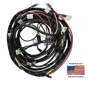 Complete Wiring Harness Ford 8n With Front Mount Distributor Generator
