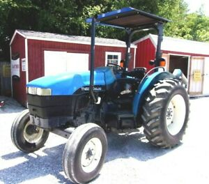 1999 New Holland Tn65 Tractor free 1000 Mile Delivery From Kentucky