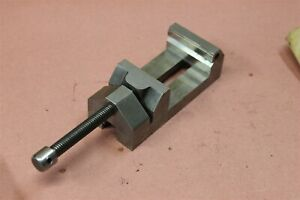 Precision Machinist Grinding Vise 2 3 8 Wide Jaws 2 5 8 Capacity Vise