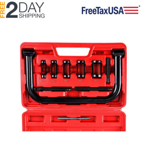Solid Valve Spring Compressor Auto Compression Clamp Tool For Motorcycle Atv Car