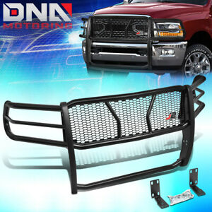 J2 Engineering For 2010 2019 Ram 2500 3500 Front Bumper Grille Mesh Brush Guard