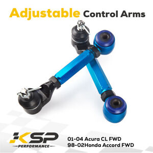 Fit Acura Tl 2004 2008 Adjustable Rear Upper Alignment Camber Control Arm Kits