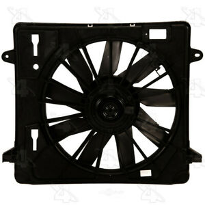 Radiator Fan Assembly Fits 2007 2009 Jeep Wrangler Parts Master four Seasons