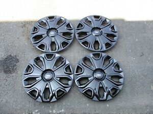 1 Set Of 4 New 2015 15 Transit 150 250 350 Hubcaps 16 Wheels Covers 7068 Black