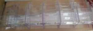 18 4 inch Wide Acrylic Brochure Holder Clear Literature Holder Large Wall Hang