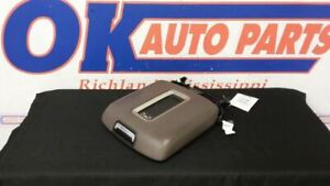 15 Gmc Yukon Denali Xl Front Floor Center Console Lid W Wireless Charger Brown