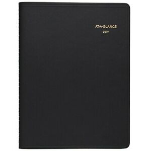 At a glance 2019 Monthly Planner 9 X 11 Large Black 7026005 new Impro