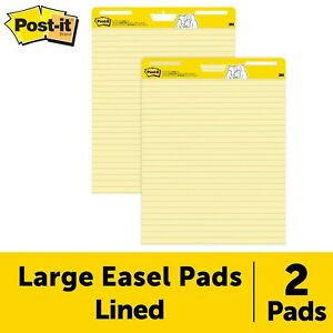 Post it Super Sticky Easel Pad 25 X 30 Inches 30 Sheets pad 2 Pads 561