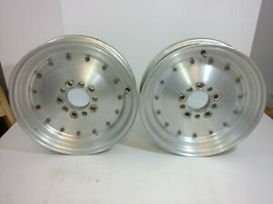 Vtg Cragar Aluminum Super Trick Wheels 15x 3 1 2 4 1 2 4 3 4 Bolt Patterns