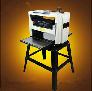 Professional 12 1 2 Woodworking Thickness Planer 1500w 220v Tables Knives