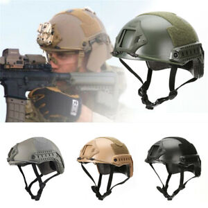 Emerson Tactical Fast Helmet Bump MICH Ballistic MH Type w NVG Shroud+Side Rail