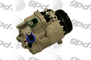 New A c Compressor Fits 2002 2006 Bmw X5 Global Parts