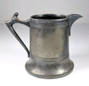 Vintage Antique Silver Plate Sheffield Made In Usa Creamer Pitcher 3 25