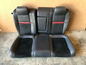 Dodge Challenger Srt 2008 2014 Oem Rear Interior Leather Fold Down Chair Seat
