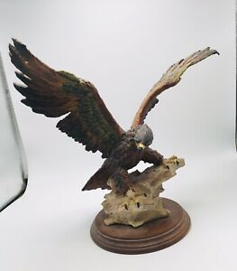 Large Capodimonte Eagle Figurine