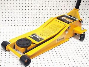 3 1 2 Ton Hydraulic Garage Floor Service Jack Low Profile Double Pump
