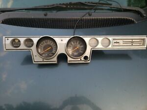 Mopar 1966 Plymouth Barracuda 150 Performance Indicator Tachometer Dash Cluster