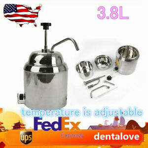 Fudge Cake Cheese Chocolate Dispenser 110v Hot Warmer With Pump Use Can Us Ship