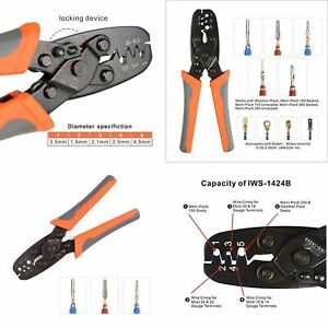 Wire Crimper Weather Pack Terminal Crimping Tool For Delphi Metri Pack 150 280