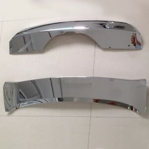 Us Chrome For Bmw X5 F15 2014 2016 2017 2018 Front Rear Skid Plate Bumper Guard