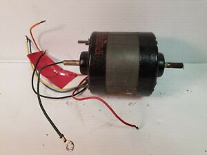 Electric Motor dual Voltage 115 230 Double Shaft 1650 Rpm 1 10hp One Speed