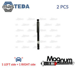 2x MAGNUM TECHNOLOGY REAR SHOCK ABSORBERS STRUTS SHOCKERS AG8032MT I NEW $102.21