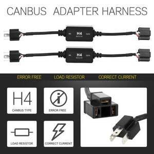 Canbus Decoder Anti flicker Resistor Relay Adapter For H4 9003 Hb2 Led Headlight