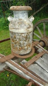 Antique Milk Can Vintage Rochester Ny