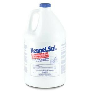 Kennelsol Gallon Veterinary Kennel Disinfectant Dogs Cats Rabbits Hedghogs