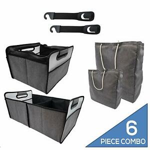 Outland Gray Truck Suv Mini Van Bench Center Console Storage Universal 16 5x9x9