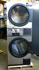 American Dryer Adg 236 Stack Dryer 30lb Coin 120v Gas Reconditioned