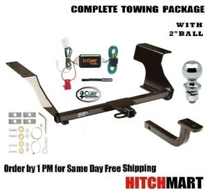 Trailer Hitch Package W 2 Ball For 2009 2013 Subaru Forester 60893