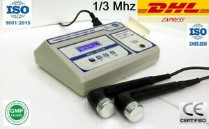 New Original Ultrasound Ultrasonic Therapy Machine For Pain Relief 1 Mhz 3 Mhz