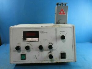 Buck Mandal Scientific Flame Photometer Pfp 7 Atomic Emission Powers On
