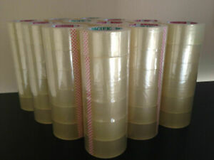2 x110 Yards 72 Rolls Clear Sealing Tape Packing Packaging Tapes pickup Only