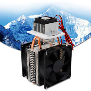 Refrigeration Thermoelectric Module Peltier Water Cooler Cooling System Diy Kit
