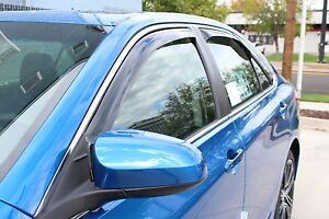 In Channel Wind Deflectors 2007 2011 Toyota Camry