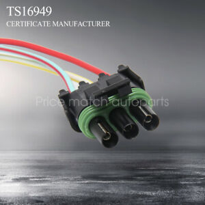 Tpi Tbi Chevy Gm Map Wire Pigtail Connector Manifold Absolute Pressure Sensor 3w