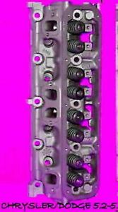 1 Dodge Dakota Jeep Magnum Wagoneer 5 2 5 9 Ohv 318 360 V8 Cylinder Head Reman