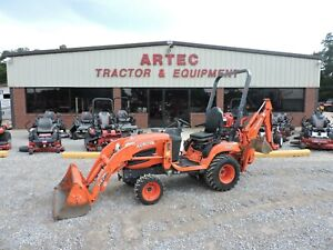 2013 Kubota Bx25d Backhoe Loader 4x4 Watch Video Only 641 Hours