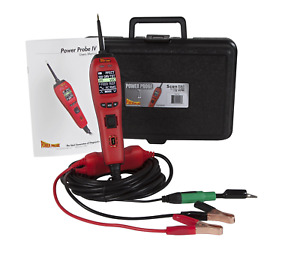 Power Probe 4 Iv Red Pp401as 12 24 48 Volt Test Power Ground Lcd Screen Color