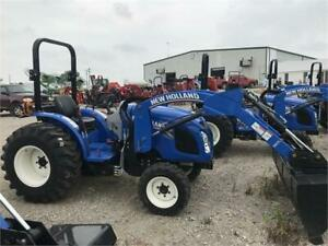 2018 New Holland Workmaster 35 With 140 Loader